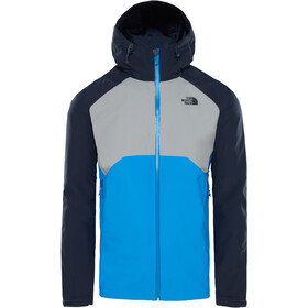 The North Face Stratos Jas Heren, bomber blue/mid grey/urban navy